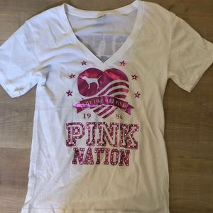 VS PINK - PINK NATION T-shirt